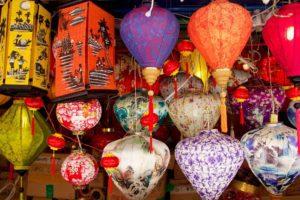 china town lantern singapore