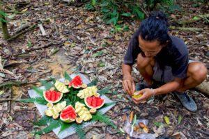 fruits bukit lawang jungle trekking sumatra