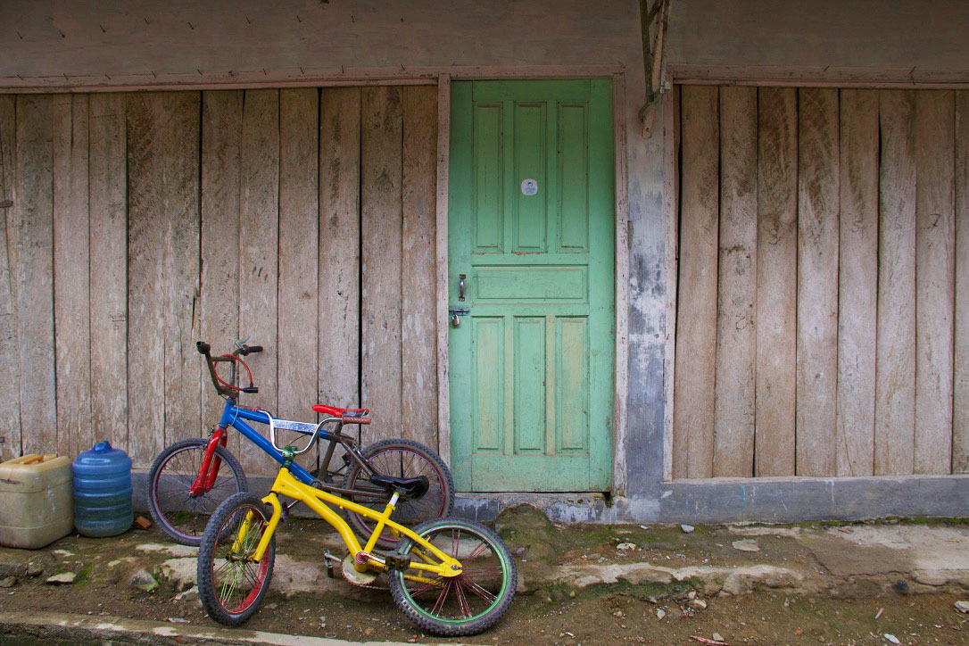 house bukit lawang bicycles sumatra