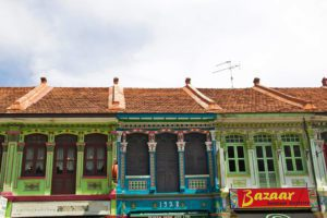 Peranakan shophouses katong neighborhood singapore