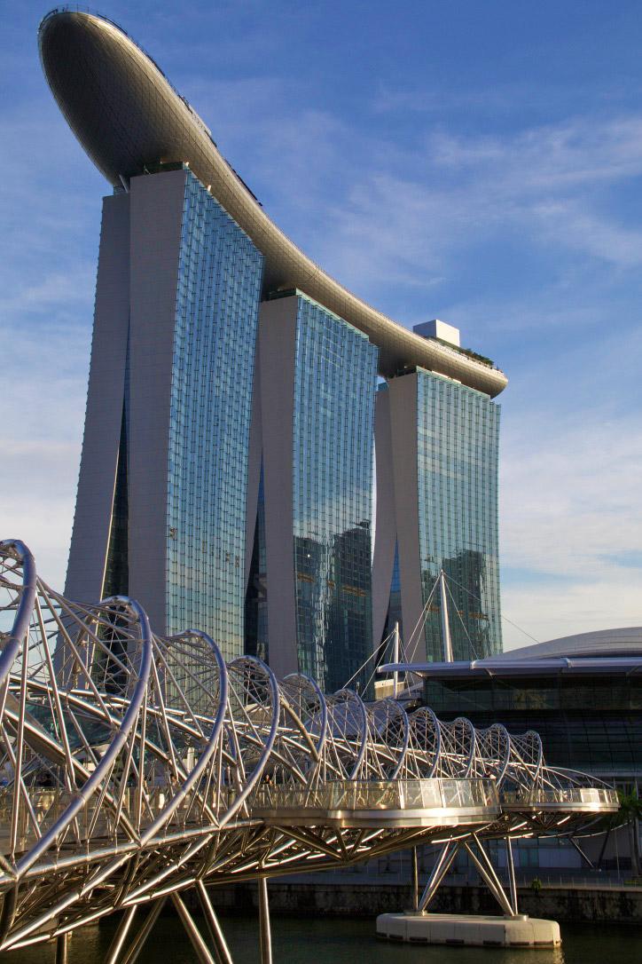 singapore marina bay sands architecture