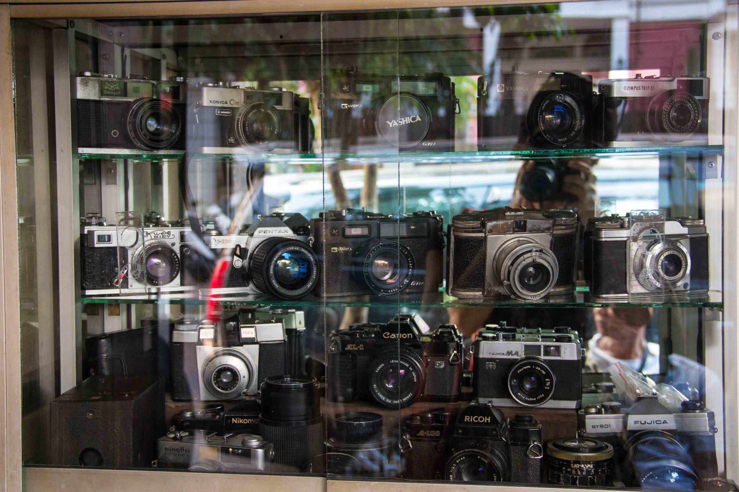 antique camera market jalan surabaya jakarta