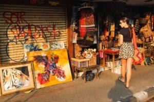 antique market in jakarta Indonesia