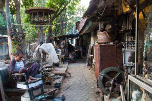 antique market jalan surabaya jakarta