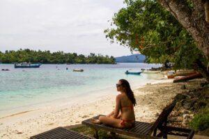 Iboih beach on Pulau Weh Sumatra