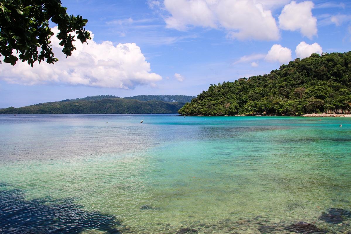 Beach views on Pulau Weh Sumatra
