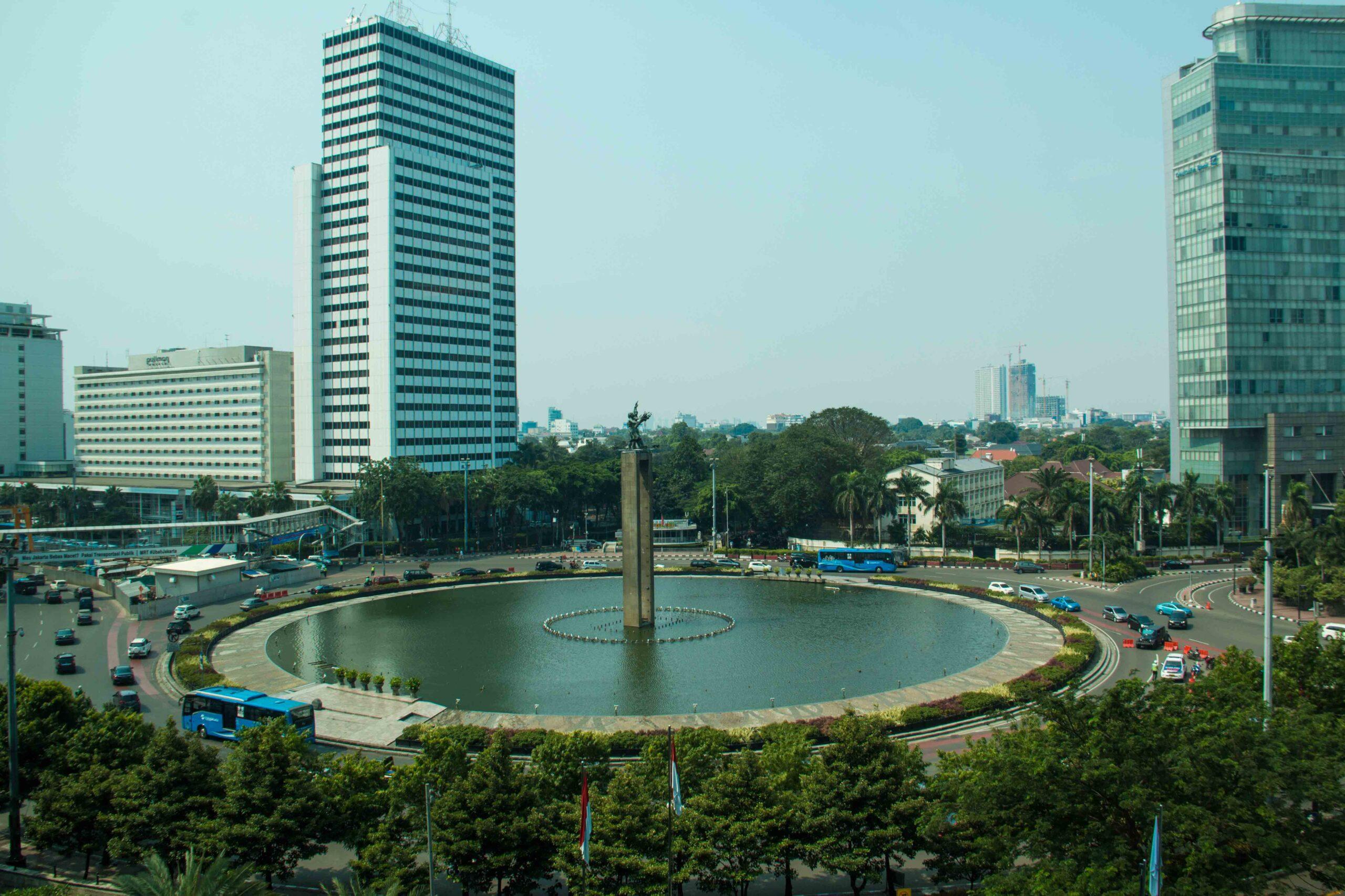 hotel indonesia kempinski jakarta view