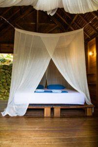 Bed room at Casa Nemo Pulau Weh
