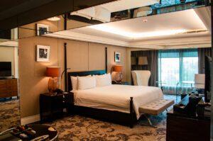 Hotel room at Hotel Indonesia Kempinski Jakarta