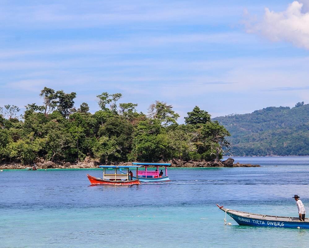 Ibioh beach on Pulau Weh Sumatra