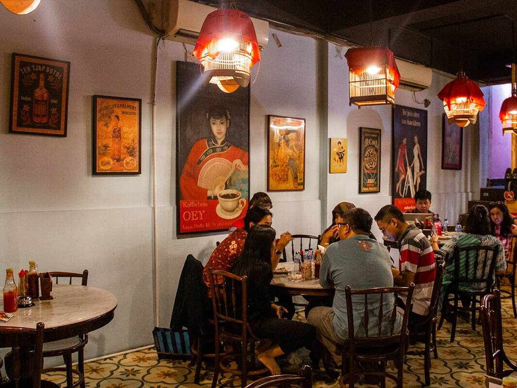 Restaurant Kopi Oey in Jakarta Indonesia
