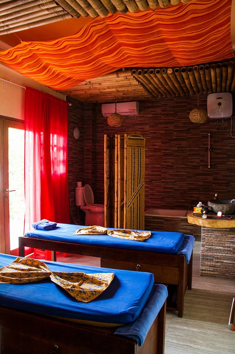 Massage room at Casa Nemo Pulau Weh Sumatra