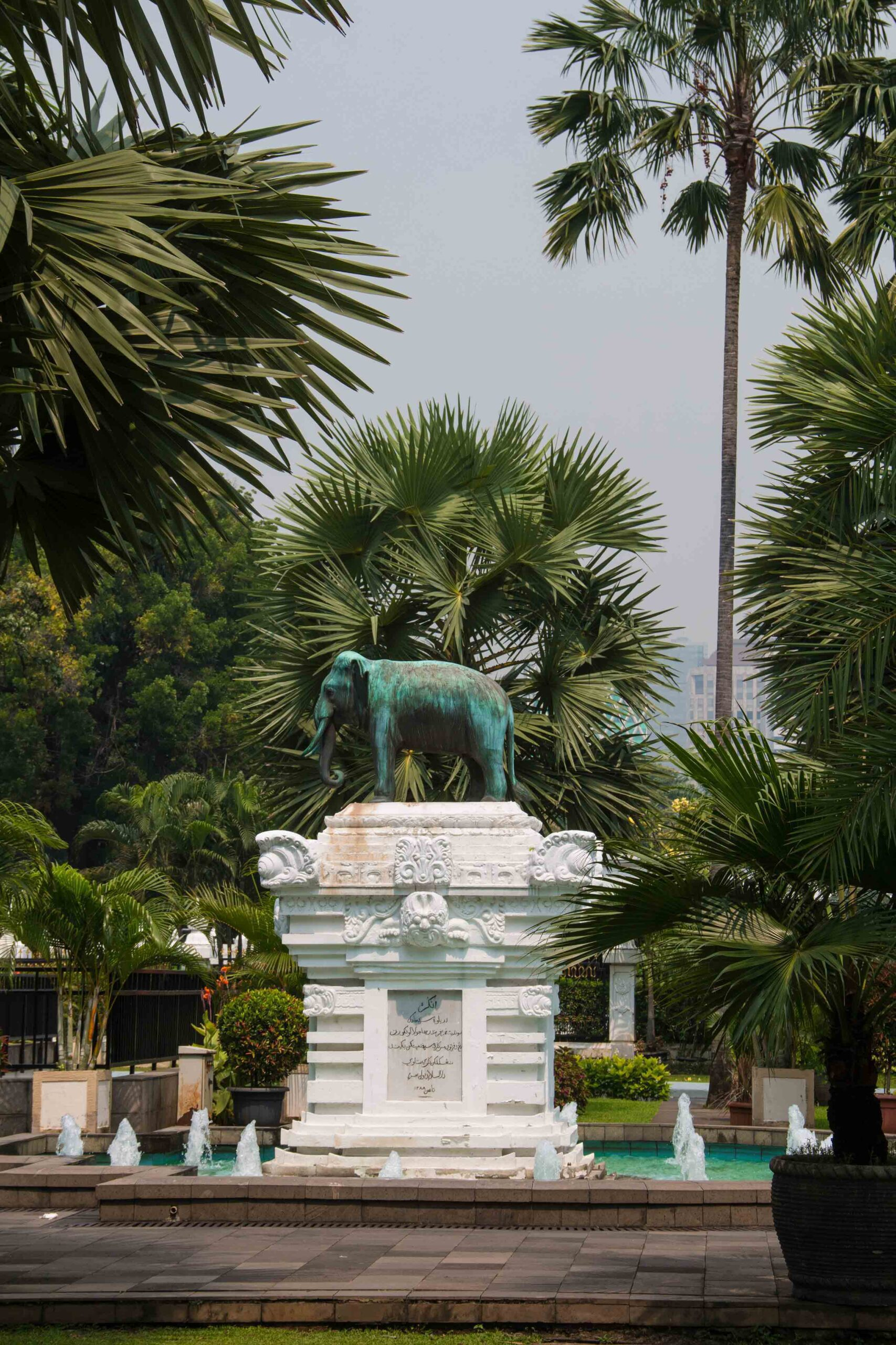 museum nasional jakarta garden