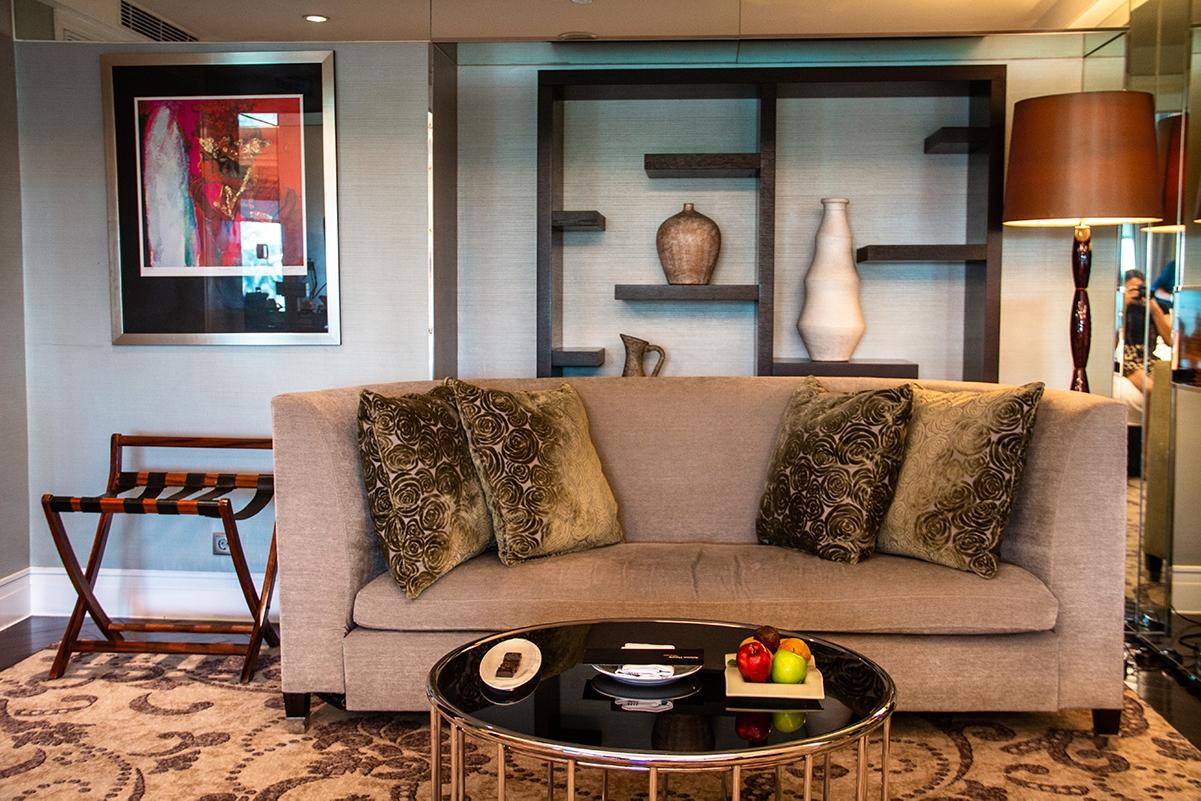 Room details at Hotel Indonesia Kempinski