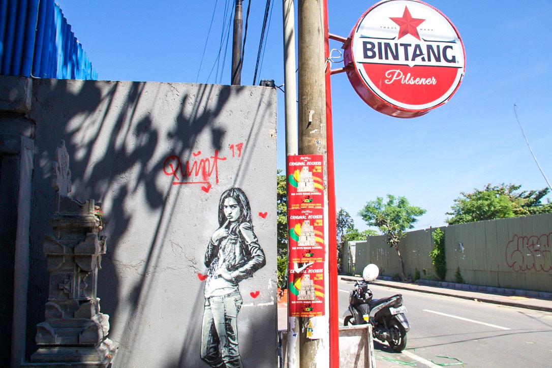 street art oldmans canggu bali