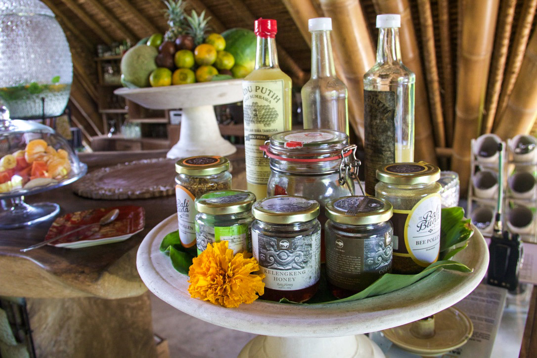 balinese honey breakfast sandat glamping tents ubud