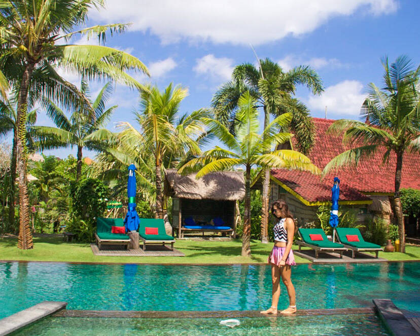 Desa Seni swimmingpool canggu bali