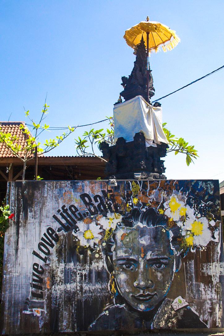 street art canggu bali