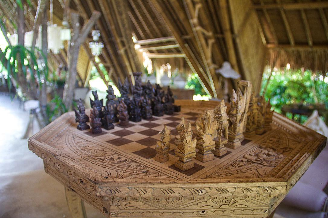 chess sandat glamping tents ubud bali