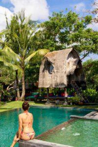 Swimming pool at Desa Seni canggu bali