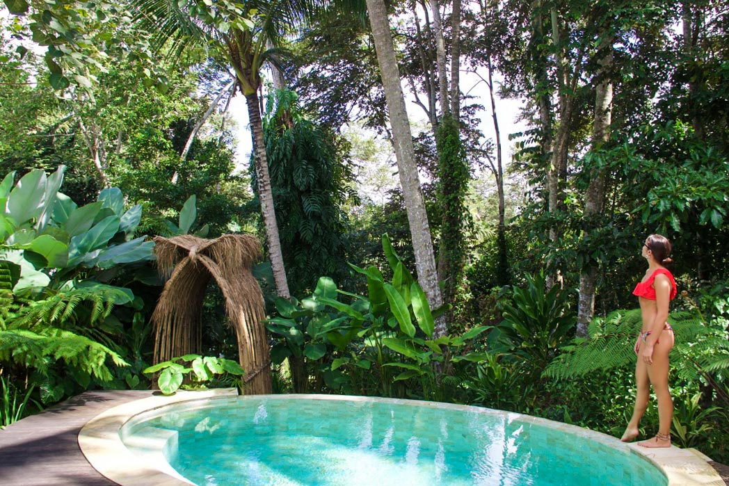 jungle pool sandat glamping tents ubud