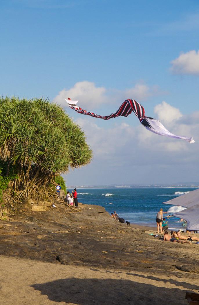 kite canggu beach bali