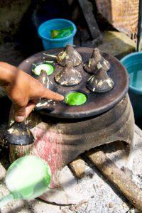 local food north bali coconut sekumpul waterfalls