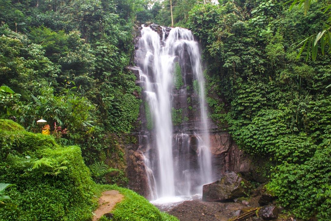 Waterfall in Munduk Bali