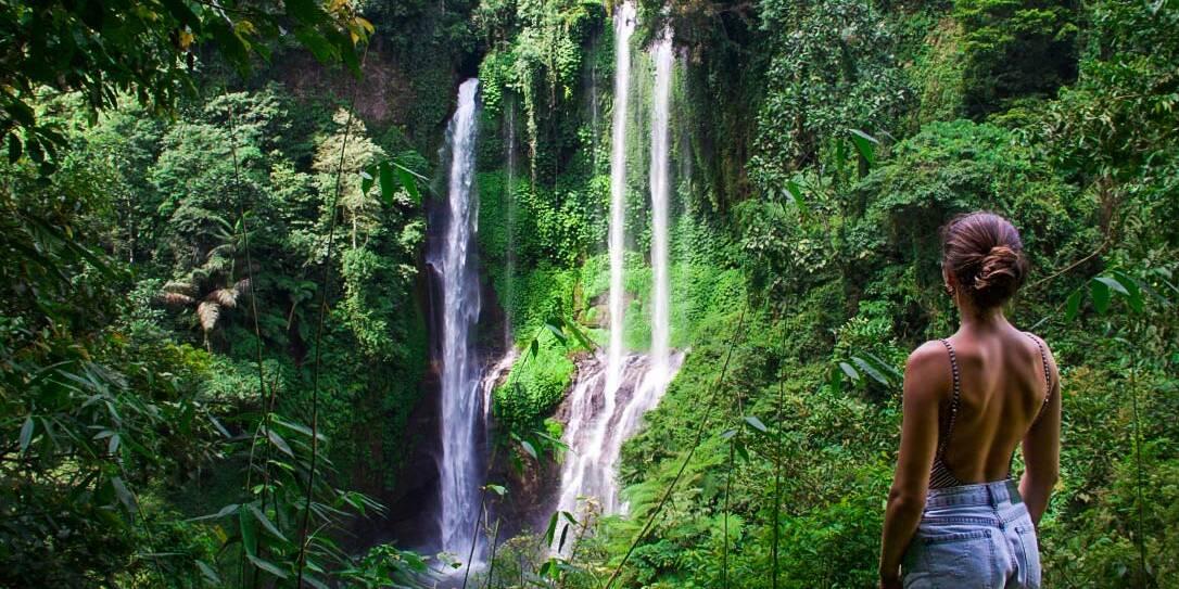 north bali sekumpul waterfalls