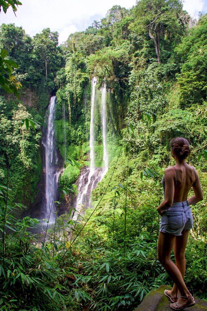north bali waterfalls sekumpul