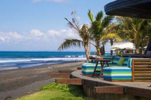 Komune resort restaurant in Keramas Bali