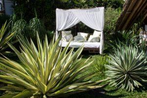 sandat glamping tents ubud garden