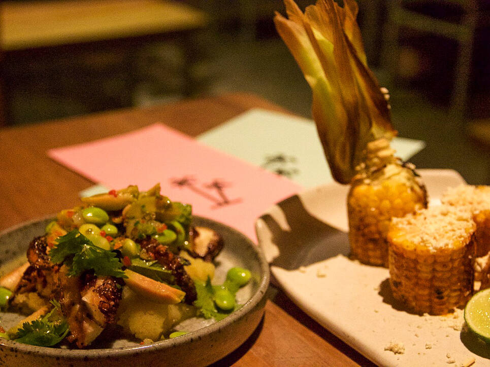 squid restaurant the slow canggu bali