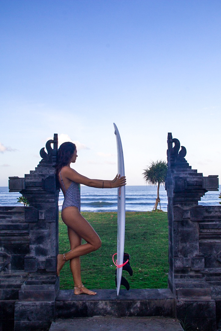 sunrise surfing canggu oldmans bali