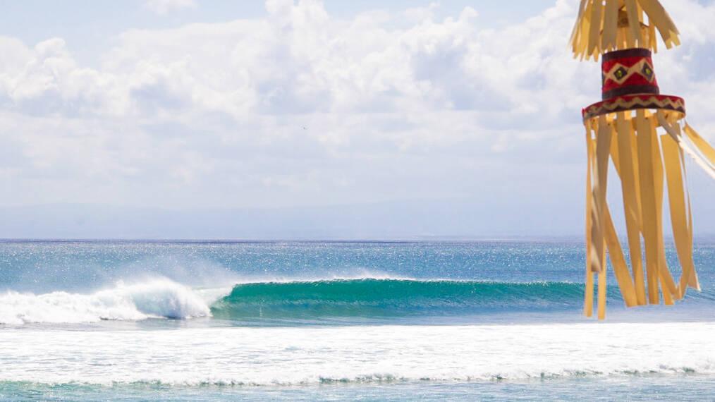 surfing balangan beach waves bali