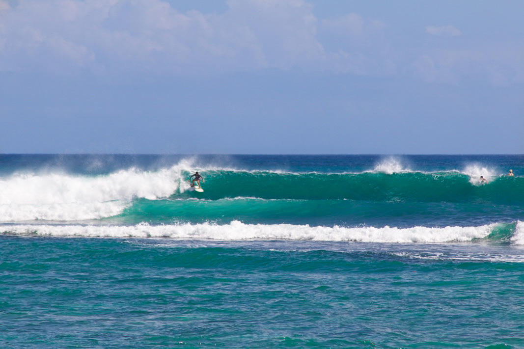 surfing balangan beach waves swell bali