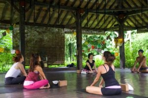 yoga class desa seni canggu bali
