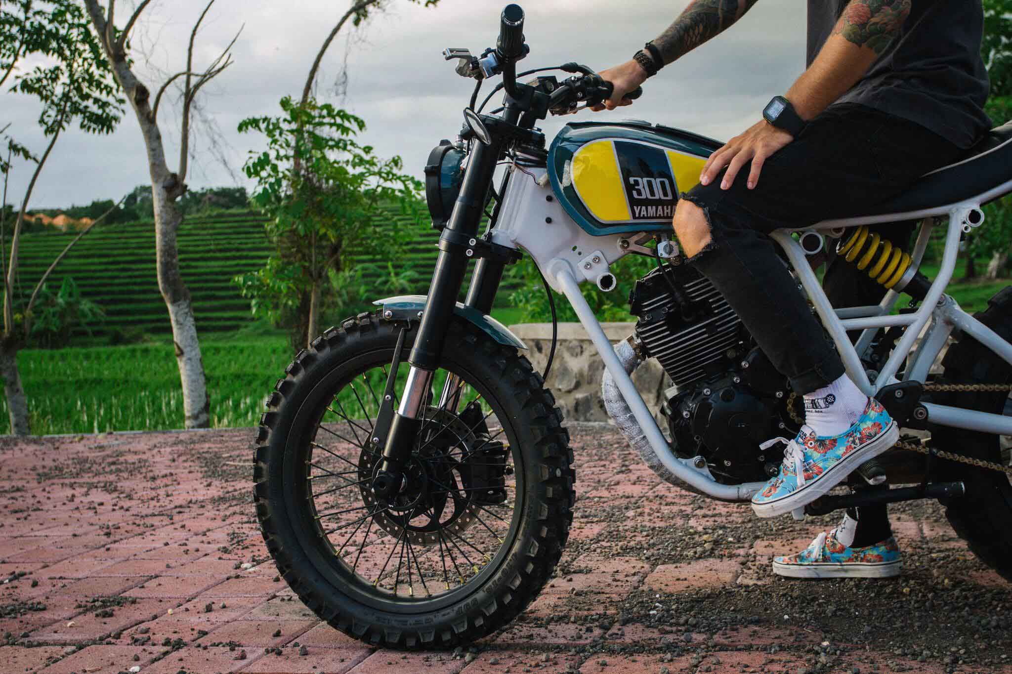 Bali Bike Monkeys yamaha