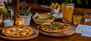 Delicious pizza's at Milk and Madu