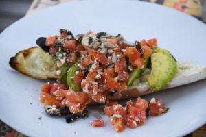 avocado toast breakfast desa seni canggu bali