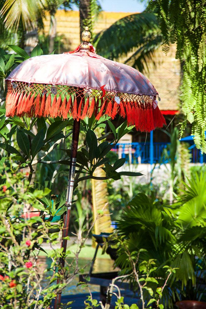 bali umbrella at desa seni canggu