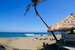 canggu beach waves bali