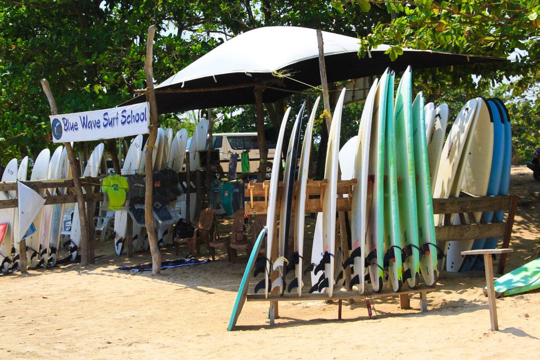 surf hire legian beach bali