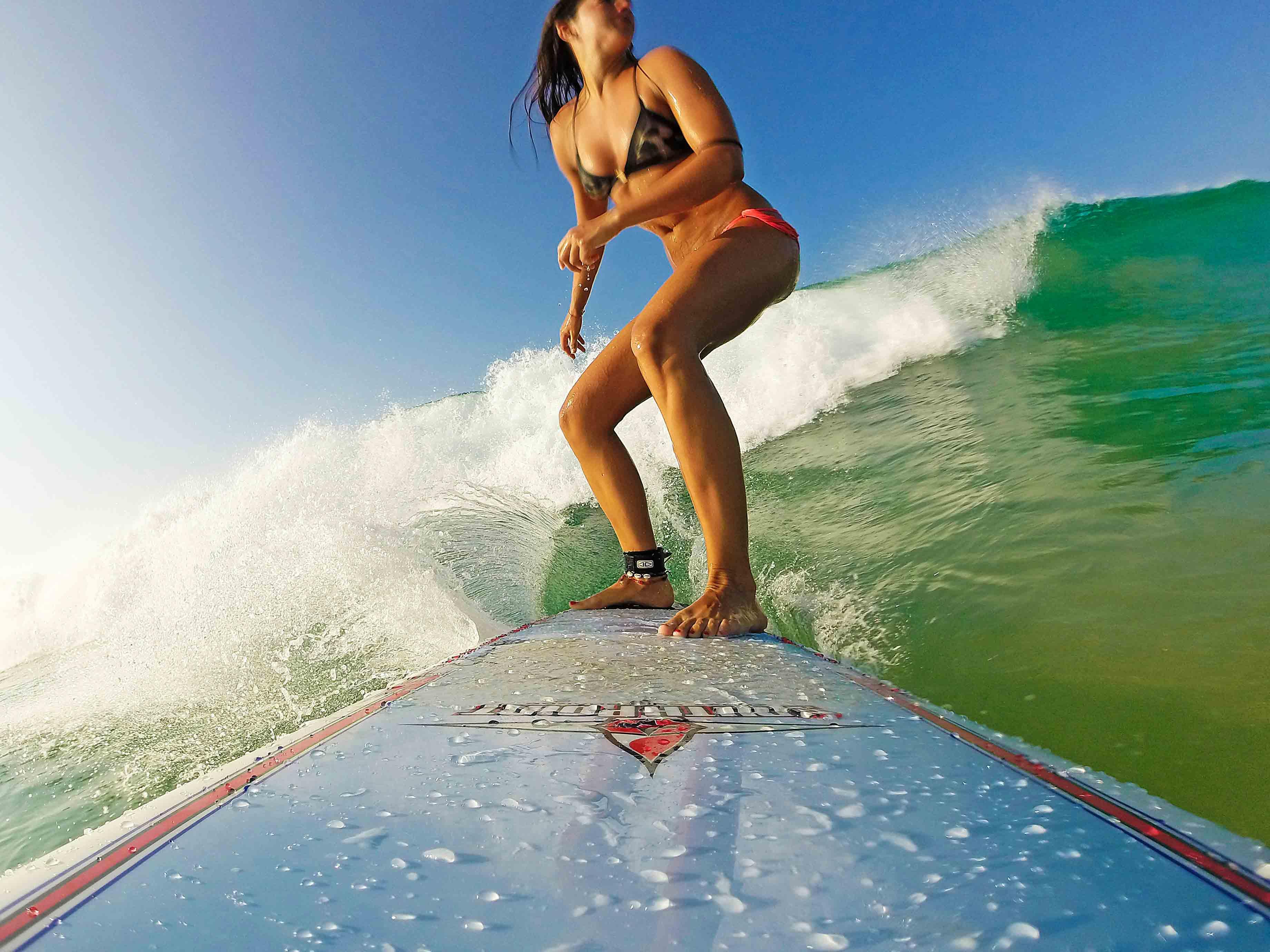 surfing canggu bali gopro