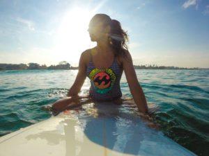 surfing canggu waves bali