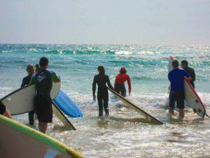 surf lesson mojosurf australia crescent head beach