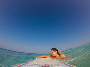 wipeout surfing waves gopro canggu bali