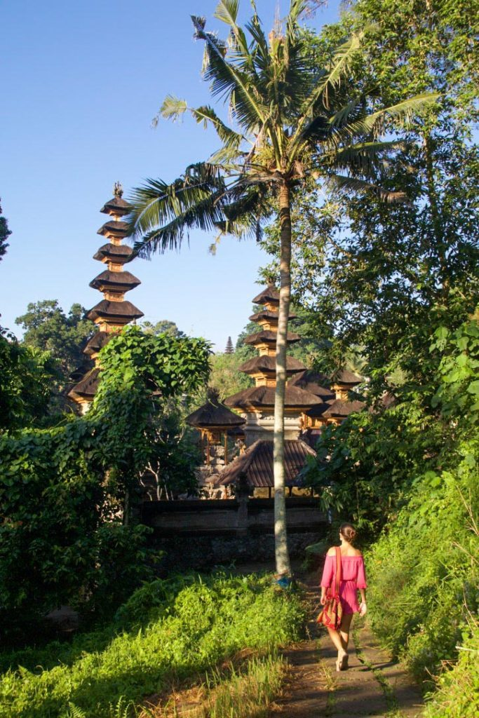 temple campuhan ridge walk sunrise ubud bali