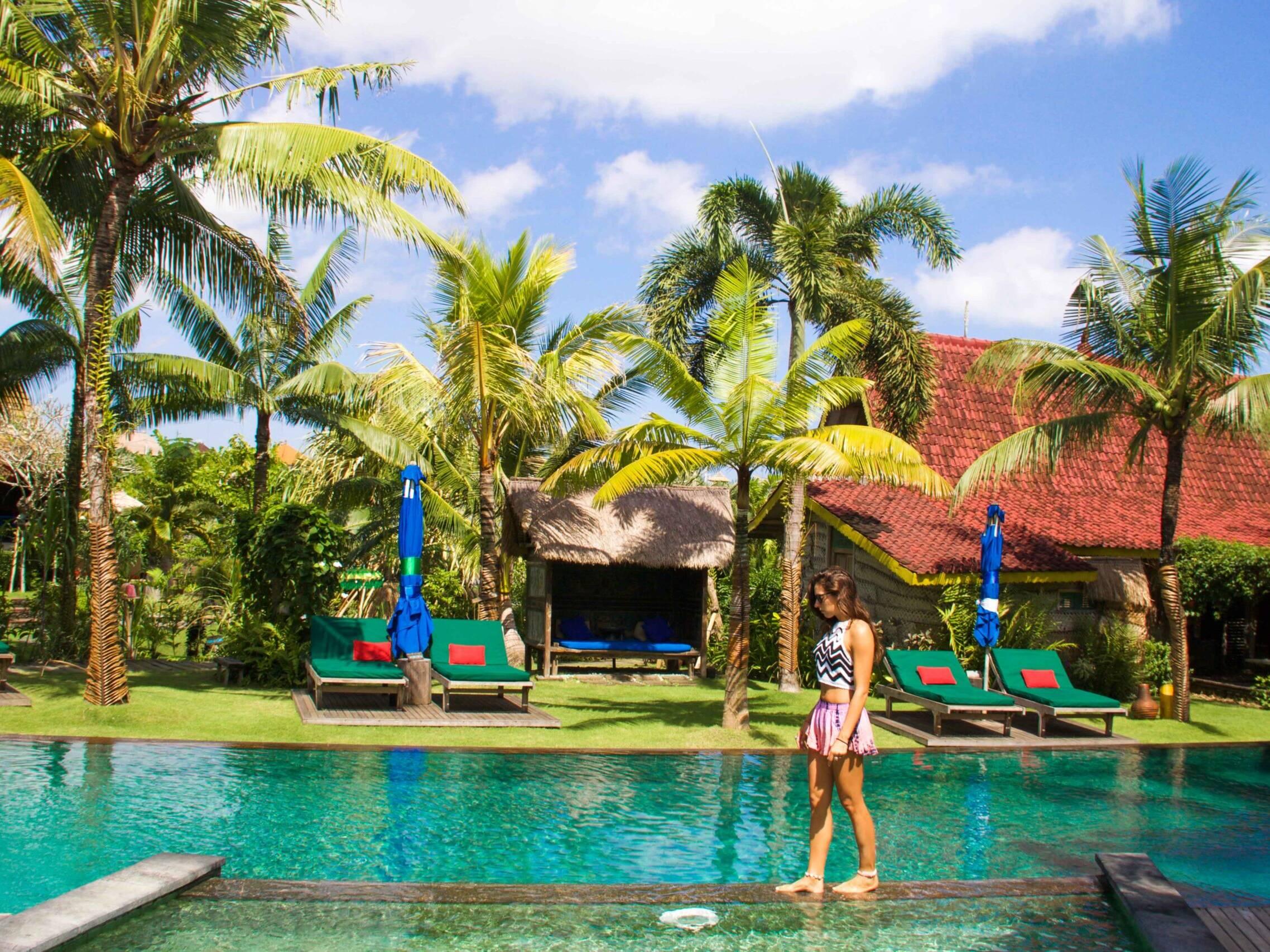 Swimming pool at Desa Seni Canggu