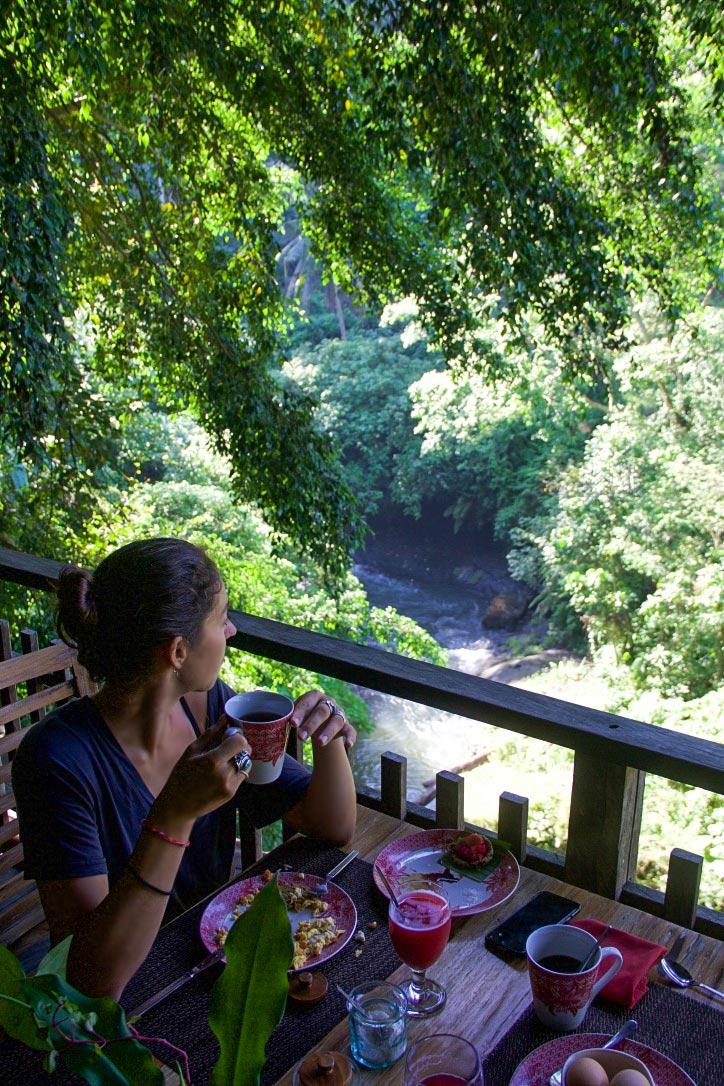 svarga loka wellness resort breakfast ubud bali